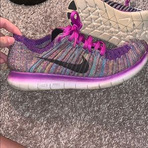 Colorful Nike Free Sneakers